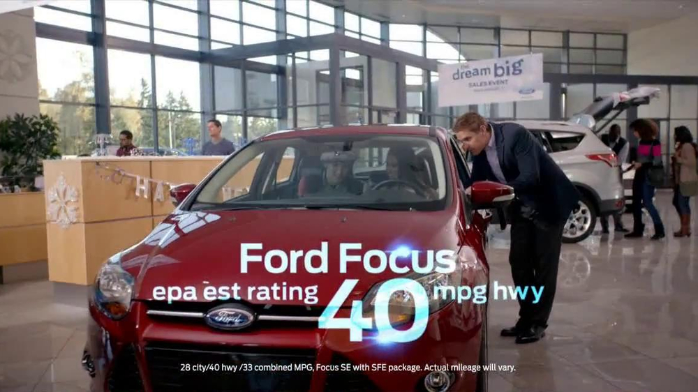 Ford Dream Big Sales Event Tv Commercial Showroom