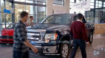 Ford Dream Big Sales Event TV Spot, 'Showroom' - Thumbnail 2