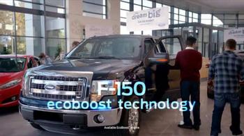 Ford Dream Big Sales Event TV Spot, 'Showroom' - Thumbnail 3