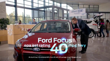 Ford Dream Big Sales Event TV Spot, 'Showroom'