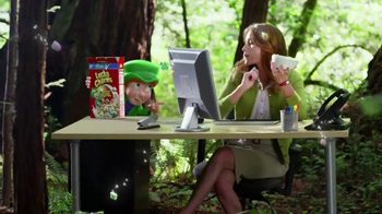 Lucky Charms TV Spot, 'Office' - Thumbnail 9