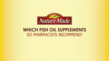 Nature Made TV Spot, 'Pharmacist Recommended: Fish Oil' - Thumbnail 1