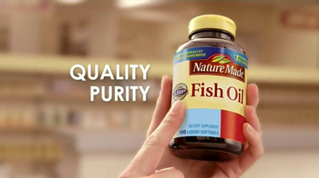 Nature Made TV Spot, 'Pharmacist Recommended: Fish Oil' - 5366 commercial airings