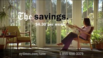 The New York Times TV Spot, 'Digital-Everything Life' - 107 commercial airings