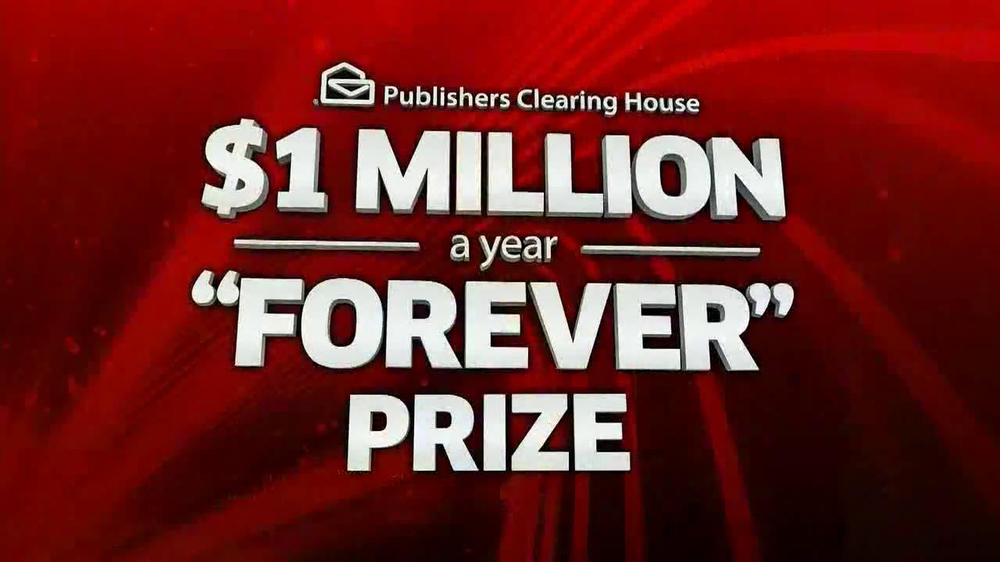 Publishers Clearing House, '$1 Million a Year' Song by The Pointer Sisters  - Video