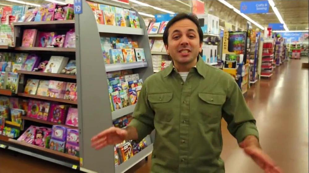 Walmart Super Savings Celebration Commercial Televisivo