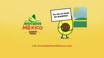 Avocados From Mexico TV Spot, 'Rise and Shine' - Thumbnail 8