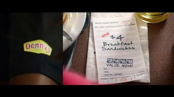 Denny's $4 Breakfast TV Spot, 'Date'