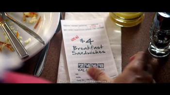 Denny's $4 Breakfast TV Spot, 'Date' - Thumbnail 9