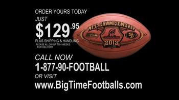 Big Time Footballs NFC Championship Ball TV Spot - Thumbnail 5