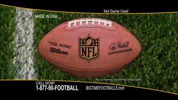 Big Time Footballs NFC Championship Ball TV Spot - 66 commercial airings