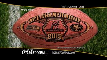 Big Time Footballs NFC Championship Ball TV Spot - Thumbnail 4