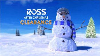 Ross After Christmas Clearance TV Spot