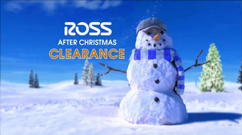 Ross After Christmas Clearance TV Spot  - Thumbnail 3