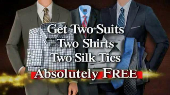 JoS. A. Bank TV Spot, 'BOG2 Suits + 2 +2 Wednesday' - Thumbnail 9