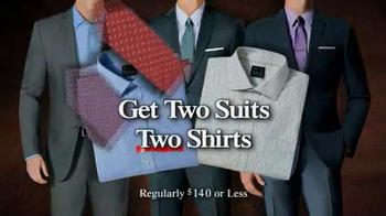 JoS. A. Bank TV Spot, 'BOG2 Suits + 2 +2 Wednesday' - Thumbnail 3