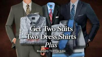 JoS. A. Bank TV Spot, 'BOG2 Suits + 2 +2 Wednesday' - Thumbnail 8