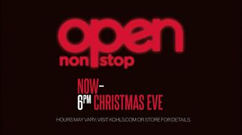 Kohl's TV Spot, 'Open Nonstop' - Thumbnail 9