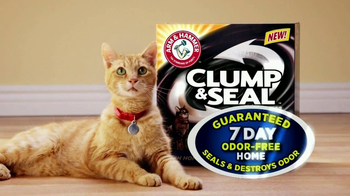 Arm and Hammer Clump & Seal TV Spot, 'Smell Test'