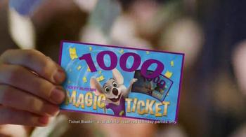 Chuck E. Cheese's TV Spot, '1,000 Tickets' - Thumbnail 6