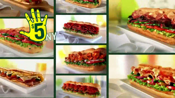 Subway TV Spot, 'JanuANY: New Year' Featuring Apolo Ohno, Mike Lee - Thumbnail 10