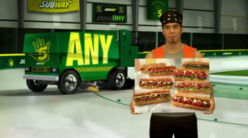 Subway TV Spot, 'JanuANY: New Year' Featuring Apolo Ohno, Mike Lee - Thumbnail 4