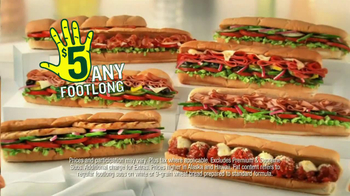 Subway TV Spot, 'JanuANY: New Year' Featuring Apolo Ohno, Mike Lee - Thumbnail 5