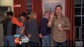 Tostitos TV Spot, 'The Worst Contest Ever' Featuring Jimmy Kimmel - 2 commercial airings