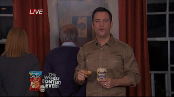 Tostitos TV Spot, 'The Worst Contest Ever' Featuring Jimmy Kimmel - Thumbnail 1