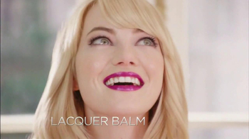 Revlon Colorburst Matte & Lacquer Balms TV Spot Featuring Emma Stone - Thumbnail 6