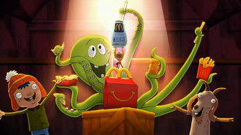 McDonald's Happy Meal TV Spot, 'Ant vs. Octopus' - 727 commercial airings