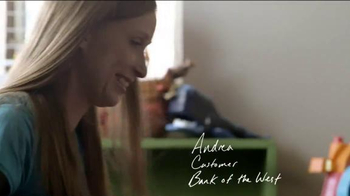 Bank of the West TV Spot, 'Andrea' - Thumbnail 1