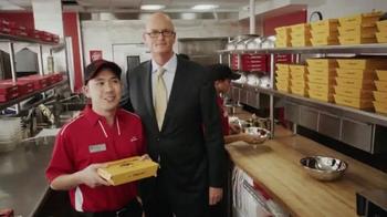 Pizza Hut Wing Street TV Spot, 'TwoPeat' Featuring Scott Van Pelt - Thumbnail 7