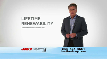 AARP Hartford Auto Insurance TV Spot - Thumbnail 5