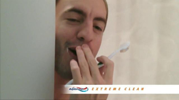 AquaFresh Exteme Clean TV Spot, 'Real People: Morning Routine'