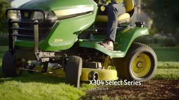 John Deere Four Wheel Steer Riding Mower TV Spot