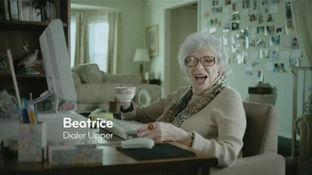 Esurance TV Spot, 'Beatrice: Dialer Upper'