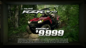 Polaris XP Sales Event TV Spot, 'Largest Off-Road Lineup' - Thumbnail 6