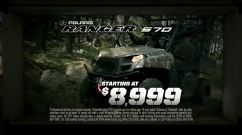 Polaris XP Sales Event TV Spot, 'Largest Off-Road Lineup' - Thumbnail 7