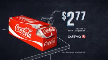 Safeway Deals of the Week TV Spot, 'Coca-Cola, Folgers, Charmin' - Thumbnail 4