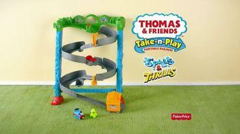 Thomas & Friends Spills and Thrills Playset TV Spot