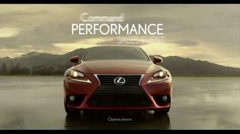 Lexus Command Performance Sales Event  TV Spot, 'Power' - Thumbnail 1