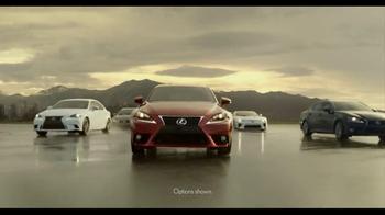 Lexus Command Performance Sales Event  TV Spot, 'Power' - Thumbnail 2