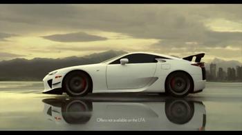 Lexus Command Performance Sales Event  TV Spot, 'Power' - Thumbnail 3