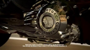 Indian Motorcycle TV Spot, 'Make the Choice to Ride With Indian Motorcycle' - Thumbnail 2