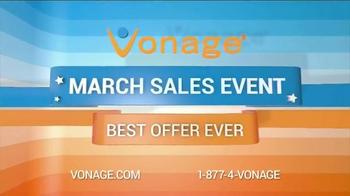 Vonage March Sales Event TV Spot - Thumbnail 1