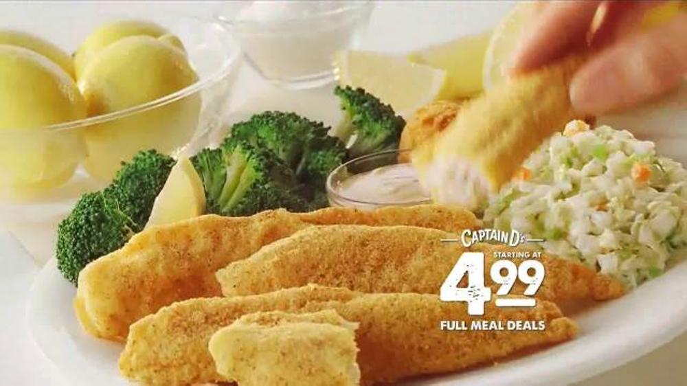 Captain D's TV Commercial, 'Full Meal Deals' - iSpot.tv