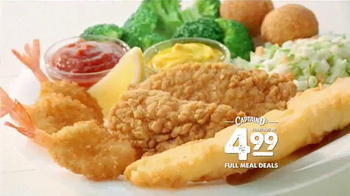 Captain D's TV Spot, 'Full Meal Deals'