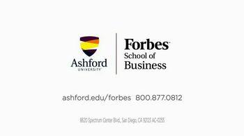 Ashford University Forbes School of Business TV Spot