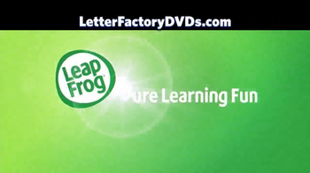 Leap Frog Letter Factory: The Letter Machine Rescue Team DVD TV Spot - Thumbnail 1